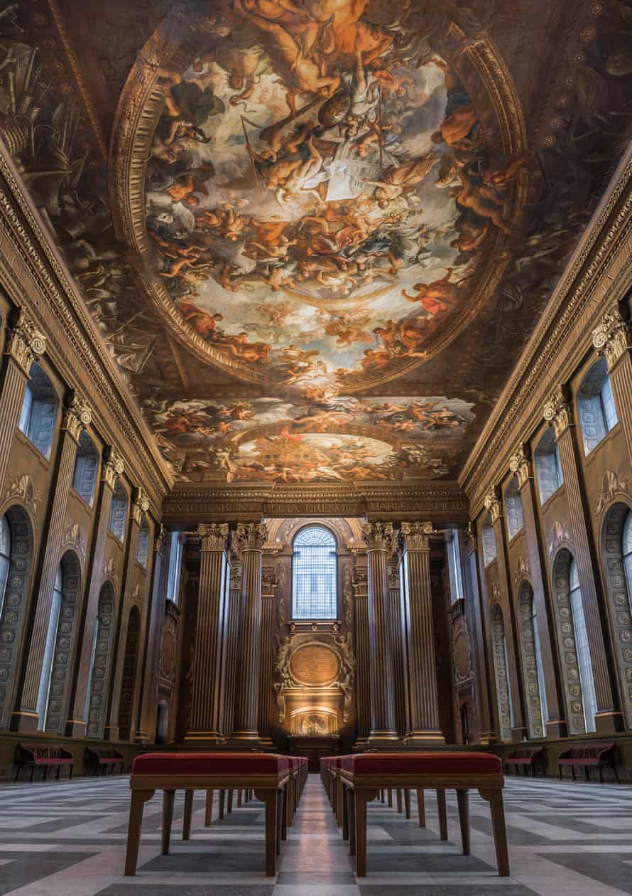 Painted Hall at The Old Royal Naval College.