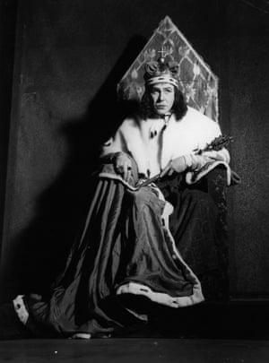Donald Wolfit as Richard III, 1941