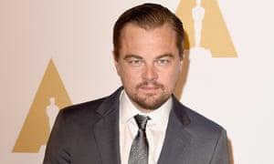 Witness … Leonardo DiCaprio.