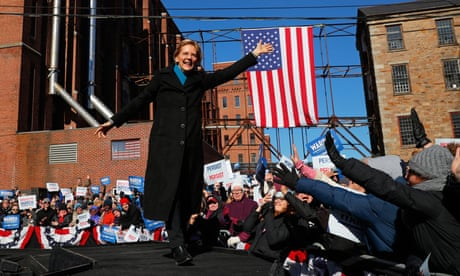Senator Elizabeth Warren officially launches 2020 presidential campaign