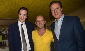 David Cameron attended the launch party for Steve Hilton's book.