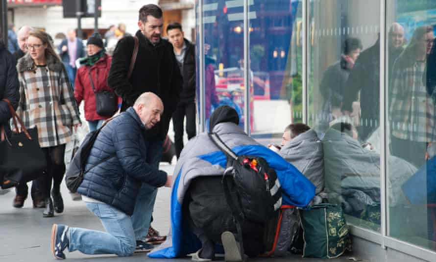 Street buddies Gerry O'Brien and Tim Joyce