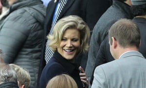 Amanda Staveley watched Newcastle United play Liverpool at St James' Park in October last year.