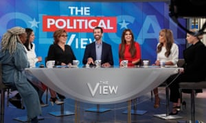 Donald Trump Jr. on The View.