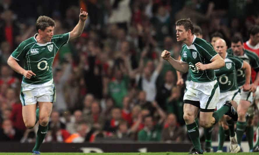 Ronan O'Gara's slam-clinching drop goal for Ireland in 2009 – the last time Wales lost at home on the final Six Nations weekend.