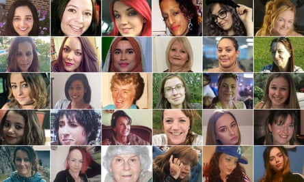 Femicide victims in 2019.