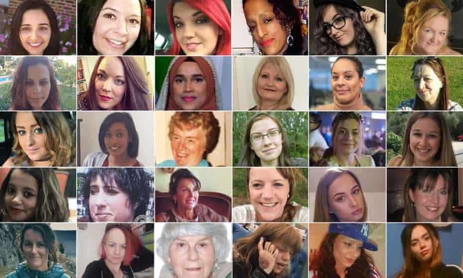 Femicide victims in 2019.