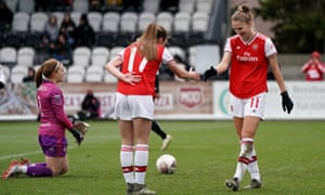 Vivianne Miedema scored six of Arsenal's 11 goals on a record-breaking afternoon at Boreham Wood.