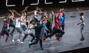 Members of the Flex community perform at the Flexn world premiere