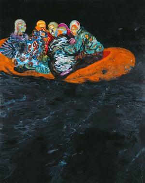 Daniel Richter's Tarifa, 2001.