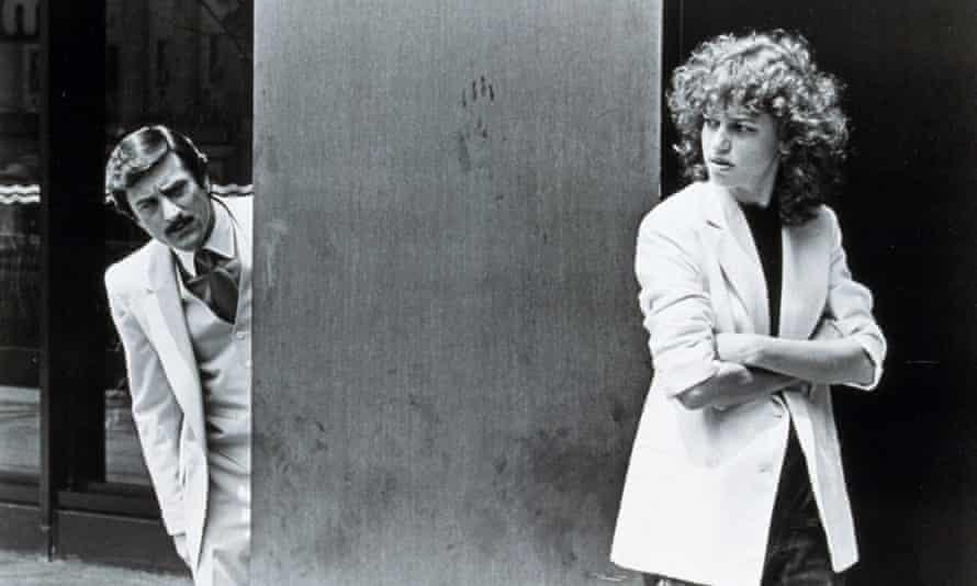 Sandra Bernhard with Robert De Niro in 1982's The King of Comedy
