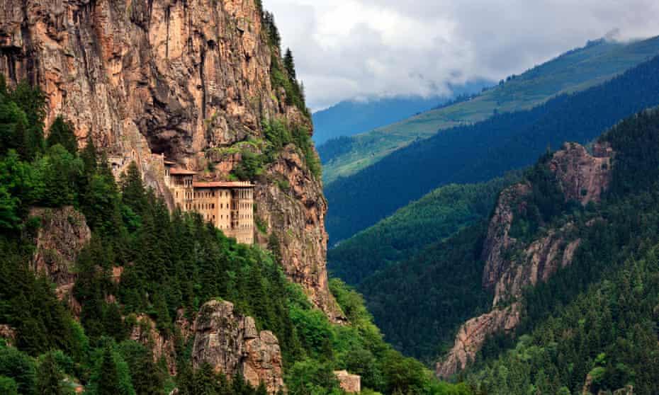 Sumela monastery, in Trabzon province
