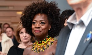 Viola Davis at the Widows afterparty in Toronto.