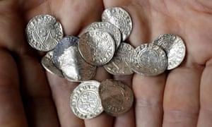 Hoard featuring coins of English kings