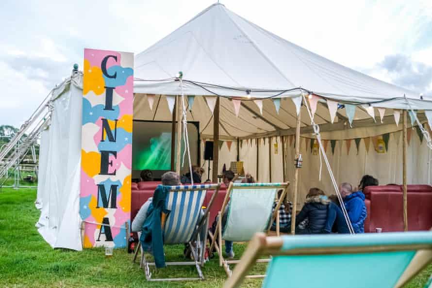 Starry Meadow cinema tent