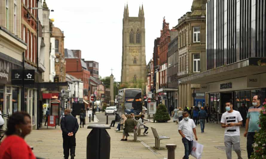 Bolton shopping street