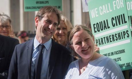 UK ban on heterosexual civil partnerships ruled discriminatory