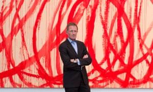 Tate director Sir Nicholas Serota turns 70 next year.