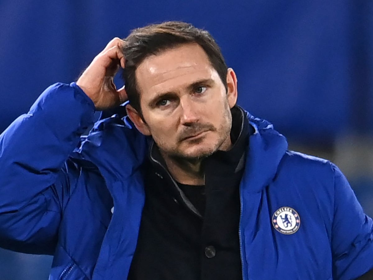Frank Lampard plays down pressure after Chelsea slip to meek defeat |  Chelsea | The Guardian