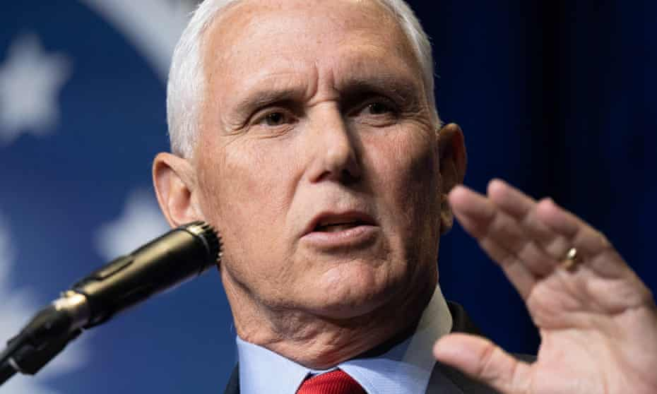 Mike Pence said he wasn't sure that he and Donald Trump will ever see 'eye to eye' on the 6 January Capitol attack.