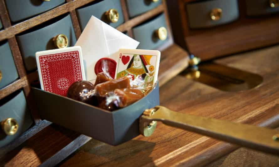 Fat Duck Sweet Trolley shot for OFM on 9th Feb - first use