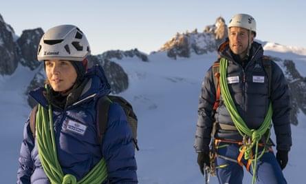 Victoria Pendleton and Ben Fogle