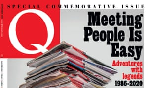 The final issue of Q magazine, July 2020