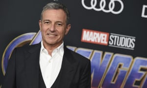 "Bob IgerDisney CEO Bob Iger arrives at the premiere of ""Avengers: Endgame"" at the Los Angeles Convention Center on Monday, April 22, 2019. (Photo by Jordan Strauss/Invision/AP)"