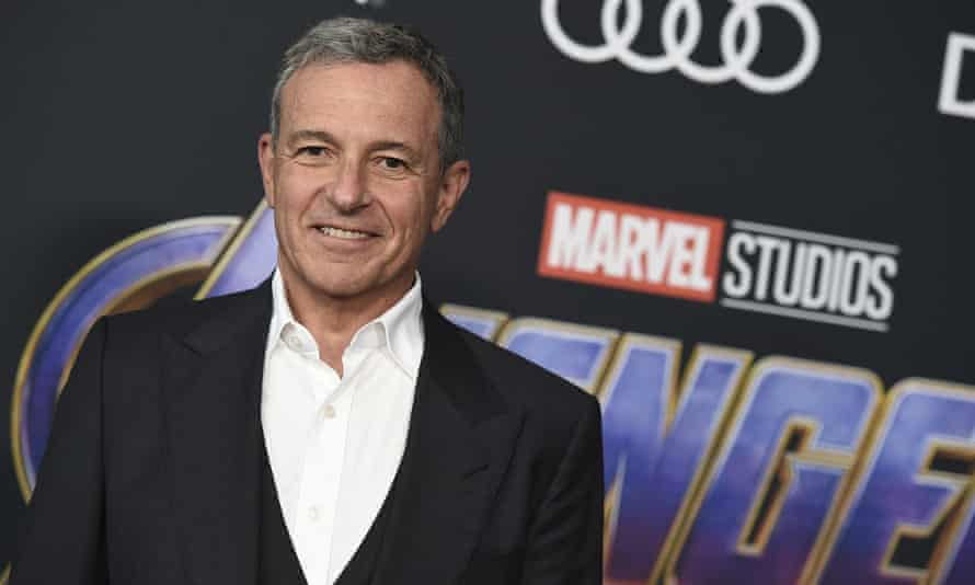 """Bob IgerDisney CEO Bob Iger arrives at the premiere of """"Avengers: Endgame"""" at the Los Angeles Convention Center on Monday, April 22, 2019. (Photo by Jordan Strauss/Invision/AP)"""