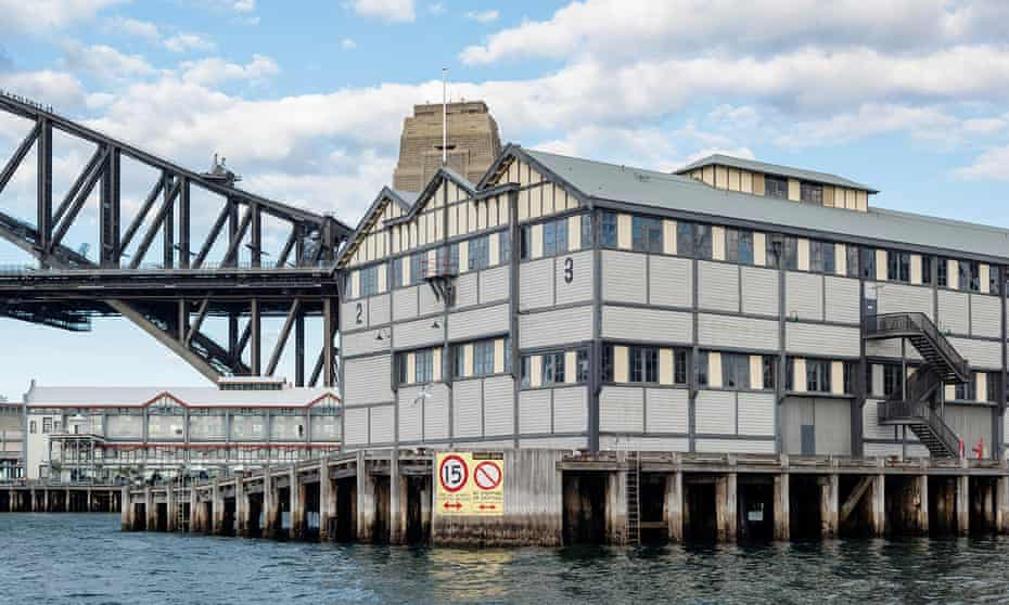 Piers 2 and 3 of the Walsh Bay Arts precinct in Sydney