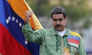 Venezuela's President Nicolás Maduro: 'During his tenure, Venezuela's economic fortunes have declined disastrously.'
