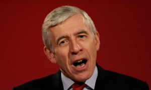 The former foreign secretary, Jack Straw, in 2005