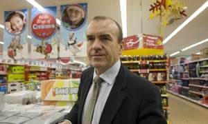 Sir Terry Leahy wants to help 'promote the brand globally'.