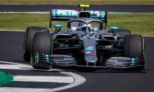 Valtteri Bottas was quickest in  the second practice session
