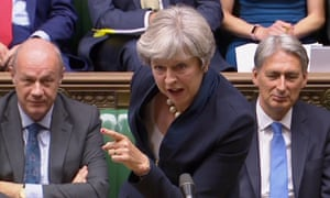 May said: 'What people want to see is control of immigration.'
