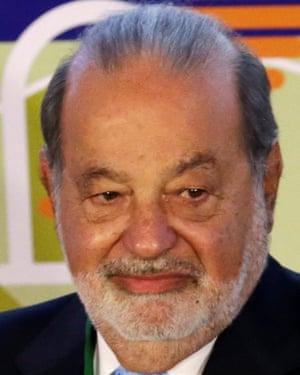 Carlos Slim $5.1bn poorer thanks to Trump. REUTERS/Henry Romero