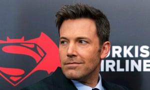 Affleck at the premiere of Batman v Superman: Dawn Of Justice.