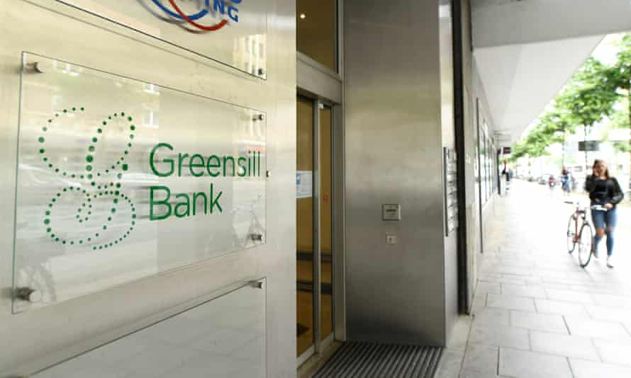 The Greensill Bank in Bremen, Germany
