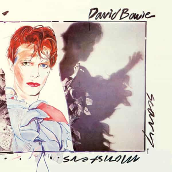 The artwork for Scary Monsters and Super Creeps, the album from which Teenage Wildlife is taken.