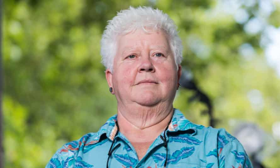 'Just stick with it, it gets better': Val McDermid.