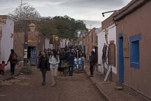 San Pedro de Atacama, a town full of bars, restaurants and tourist agencies