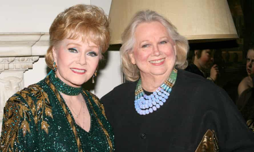 Barbara Cook, right, with Debbie Reynolds in 2009.