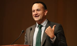 Leo Varadkar at a US 20th-anniversary event for the peace deal
