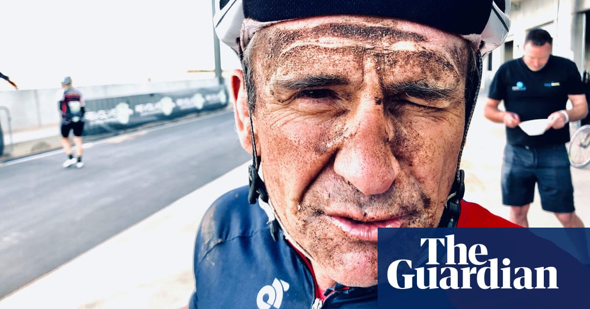 'It's the journey, not the destination': cycling writer rolls out on 4,900km odyssey