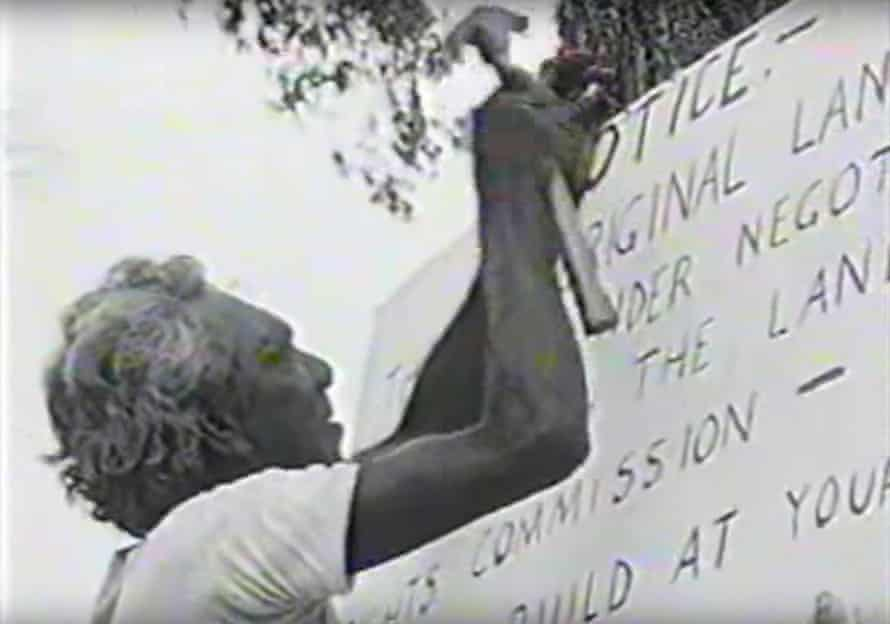 The Larrakia people fight for land rights over the area that would become the Kulaluk lease, near Darwin in the 1970s.