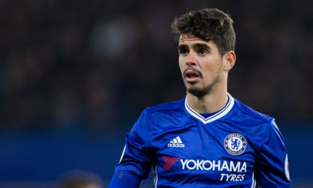 Oscar has started five Premier League games this season and is poised to leave Chelsea having joined them in 2012