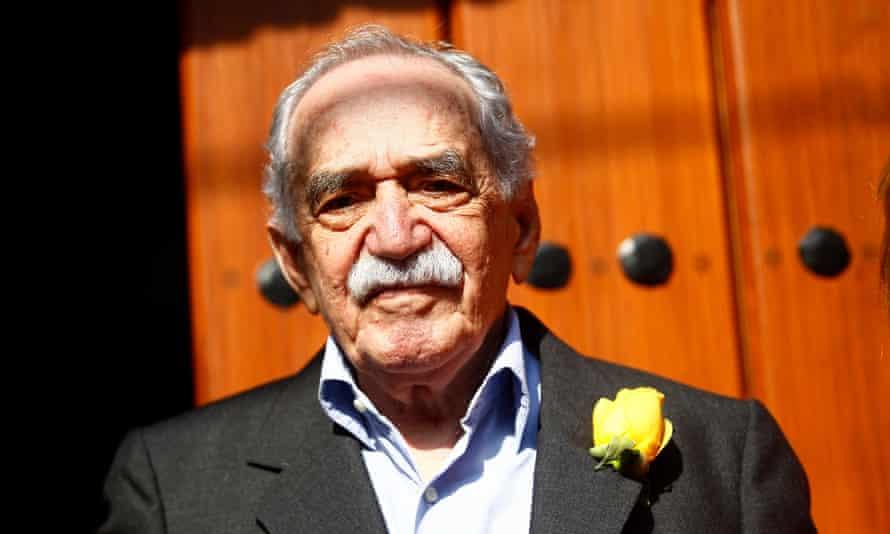Gabriel García Márquez on his 87th birthday in Mexico City in March 2014.