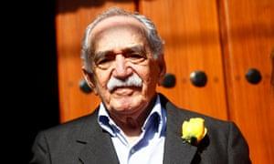 Gabriel Garcia Márquez on his 87th birthday in 2014