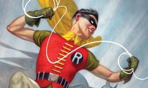 Classic 1950s-era Robin, aka Dick Grayson.