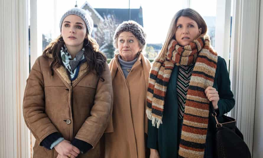 Aisling Bea, Sorcha Cusack and Sharon Horgan in This Way Up
